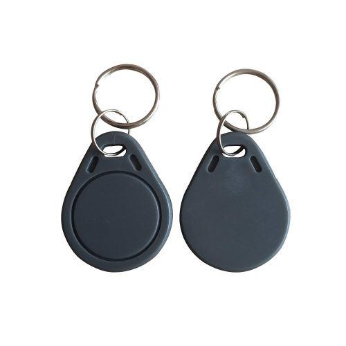 NFC klíčenka - šedá