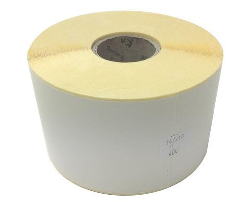 Etiketa na kotouči 74x210mm, papírová, VDA