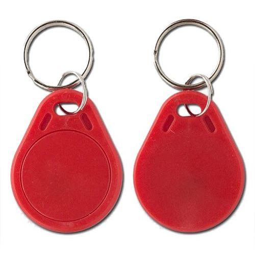 NFC klíčenka - červená
