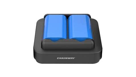 Ladeständer für 2 Batterien für Model C66 und C61