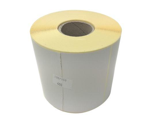 Thermoetikett au einer Rolle 100x150mm