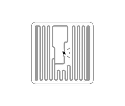 SQUARE - selbsklebend RFID UHF tag