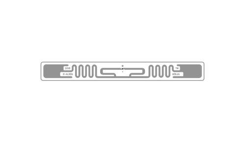 SQUIGLE - selbsklebend RFID UHF tag