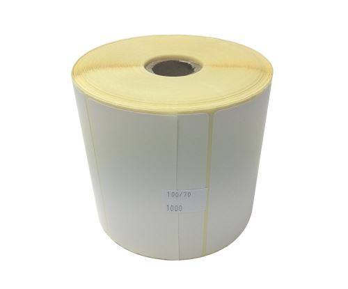 Adhesive paper labels 100x70mm