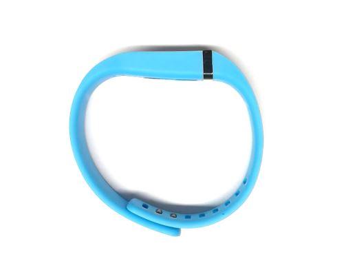 HF NFC silikonový náramek - modrý
