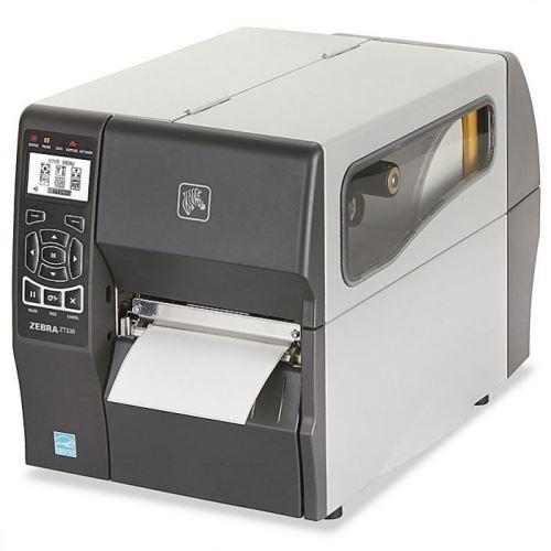 Zebra ZT230C- stolní tiskárna čárových kódů, USB, RS232, LAN, řezačka
